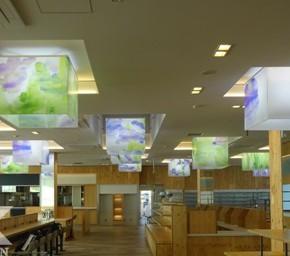 菖蒲パーキングエリア店舗 「SHOBU 花見 CHAYA」2―器具紹介