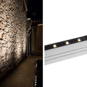 床埋込LED照明器具-壁面ウォッシュライトアップ(3)